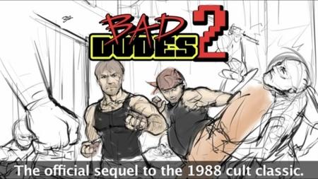 ¿Queréis la secuela del mítico 'Bad Dudes vs. Dragon Ninja'? Pues a soltar pasta en su KickStarter o los ninjas os crujirán