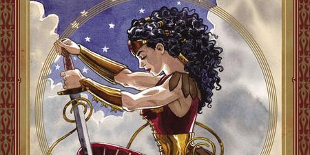 'Wonder Woman: La verdadera amazona': Jill Thompson transforma a la heroína para que funcione el cuento