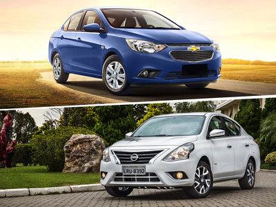 Nuevo Chevrolet Aveo vs. Nissan Versa: así van en la batalla por ser el favorito de México