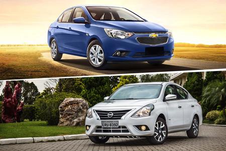 Chevrolet Aveo Vs Nissan Versa Cul Es Mejor
