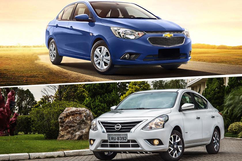 Chevrolet Aveo vs. Nissan Versa: ¿Cuál es mejor?