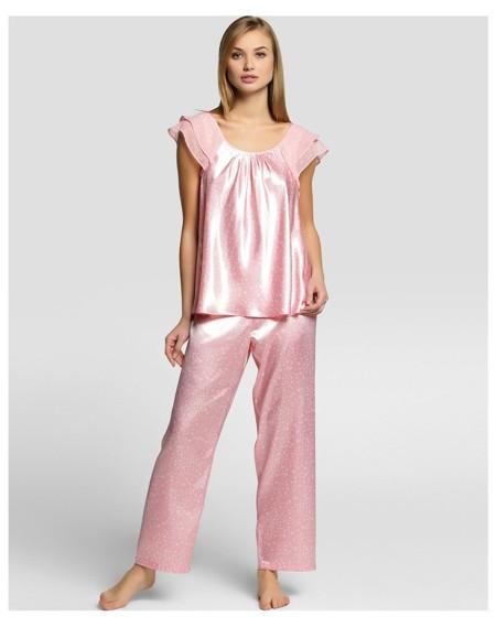 Pijama Raso Oscar De La Renta