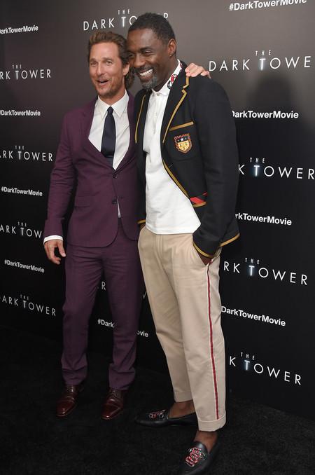 Duelo De Estilo En La Premiere De The Dark Tower Con Matthew Mcconaughey E Idris Elba 3