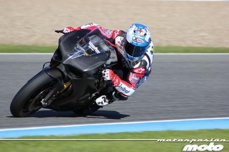 Galería fotográfica de los entrenamientos de pretemporada de Superbikes y MotoGP en Jerez
