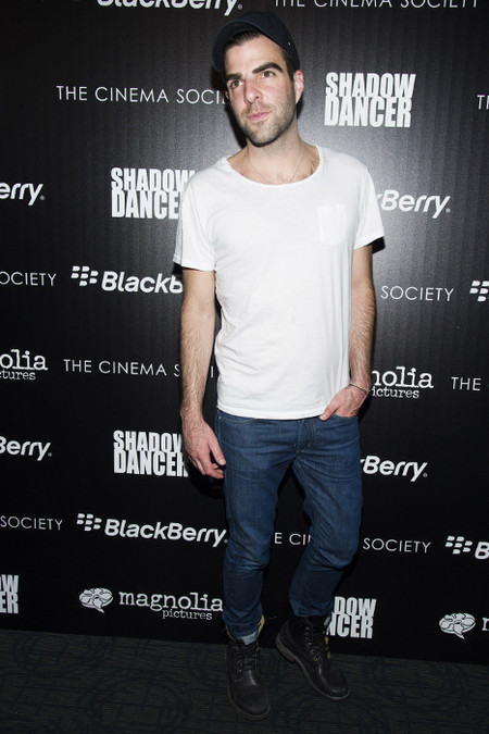 Zachary Quin camiseta blanca