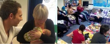 Baby café, lugar de encuentro de madres y apoyo a la lactancia