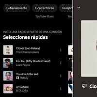 YouTube Music añade 'selecciones rápidas', para escuchar una radio basada en tus canción favorita