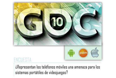 Android, Apple y Palm en la Game Developer Conference, uno de ellos con regalo incluido