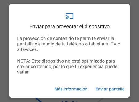 Envío Pantalla Android Tv