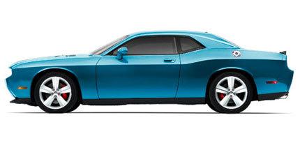 El único Dodge Challenger SRT8 azul a subasta en eBay