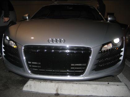 El Audi R8, ahora por Los Angeles