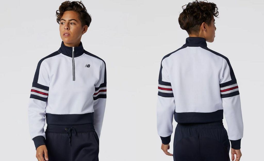 Camiseta de manga larga Achiever Half Zip