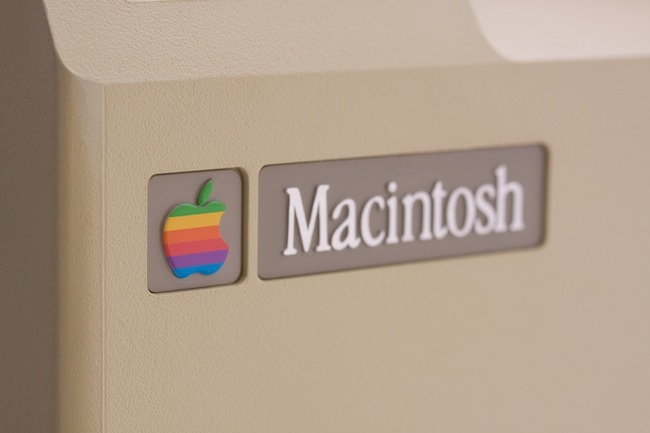 Macintosh logo caja original APS