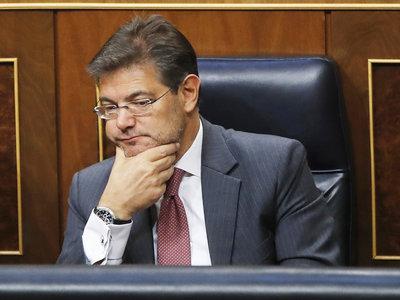 El ministro de Justicia ocultó al Congreso cientos de descargas de documentos confidenciales de LexNET