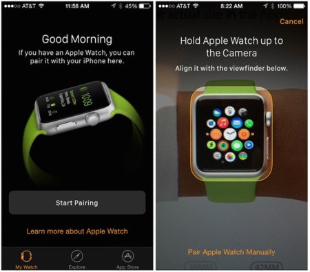 Apple Watch Pairing Auto