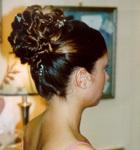 Tendencia peinados novia 2009: moños altos