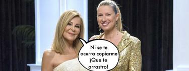 Así será el asombroso vestido que lucirá Anne Igartiburu el día de las campanadas junto a Ana Obregón