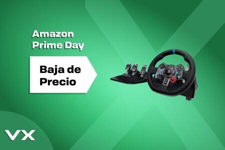 Amazon Prime Day 2021: este volante gaming de Logitech es compatible con PC, consolas PlayStation y está en oferta por 188,99 euros