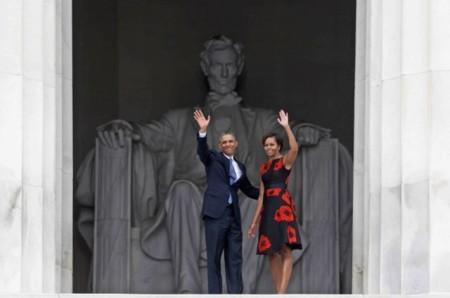 Retrato de una (primera) dama. Michelle Obama de nuevo radiante