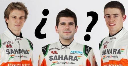 Jaime Alguersuari, opción para Force India si pierde a alguno de sus pilotos
