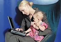Datos sobre maternidad, edad y trabajo en España