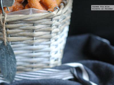 Las rosquillas caseras de toda la vida. Receta tradicional