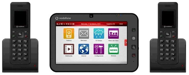 Vodafone en tu casa t ctil un tel fono fijo con acceso a internet m vil - Internet en casa de vodafone ...
