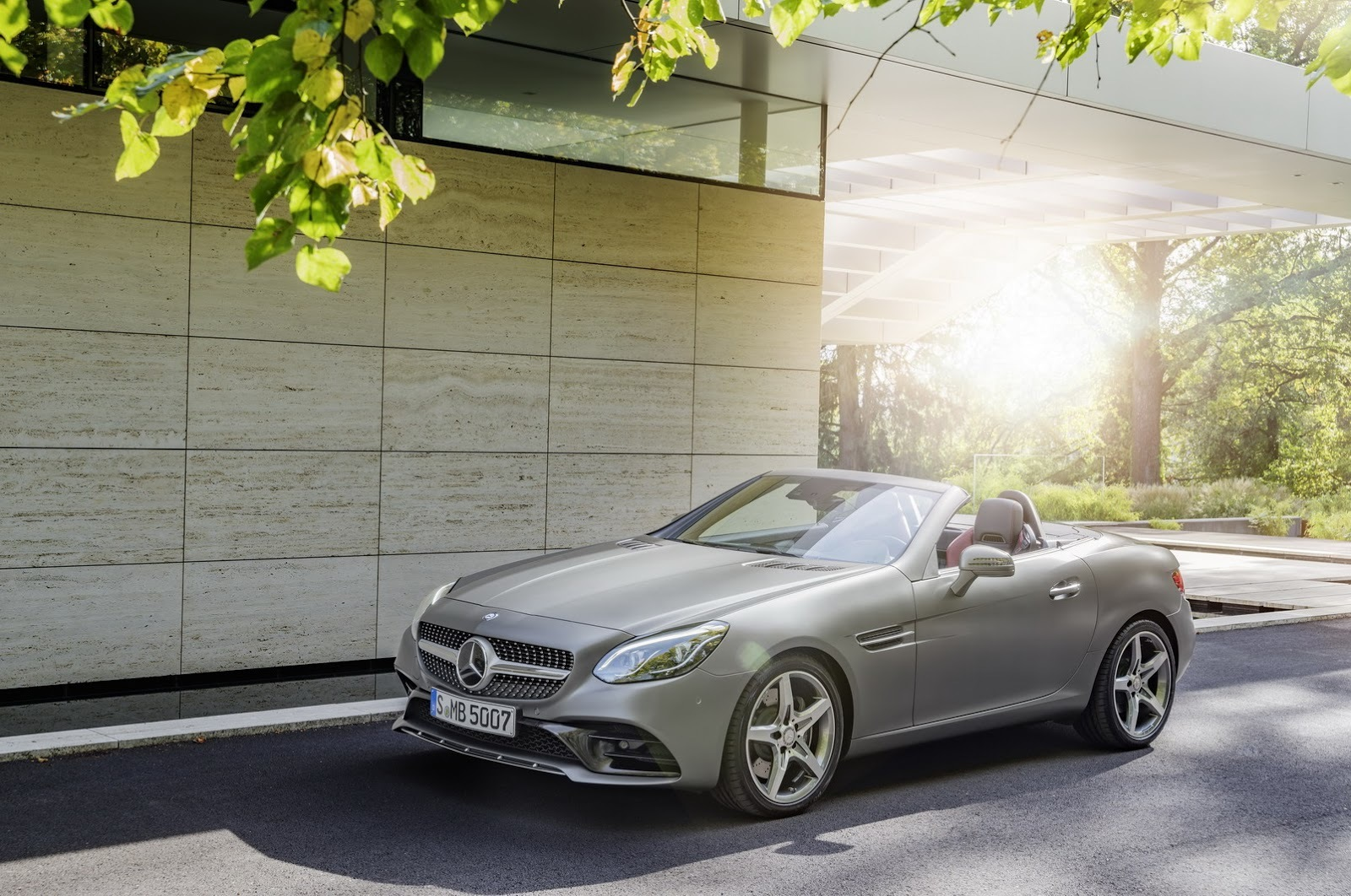 Foto de Mercedes-Benz SLC 2017 (5/17)