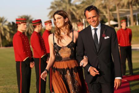 ¡Echamos mucho de menos el estilo de Bianca Brandolini! En Dubai tampoco ha dado la talla