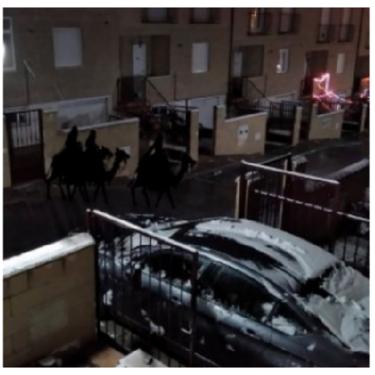 Los Reyes Magos en tu calle: la preciosa iniciativa de un paje tuitero que se volvió viral