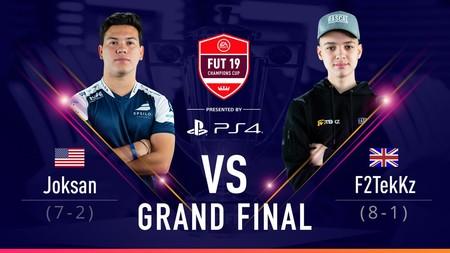 Xbox domina a Playstation: F2Tekkz arrolla a Joksan Redona en la gran final de FUT Champions Cup de FIFA 19