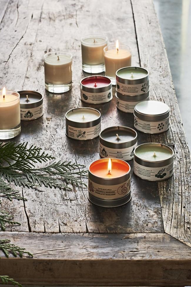Muji Velas Aromaticas Navidad