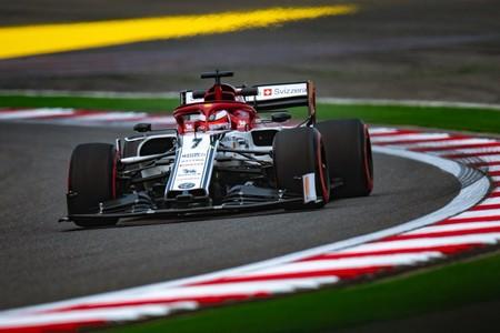 Raikkonen China F1 2019