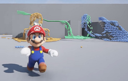 """Mario continúa ejerciendo de portavoz """"no oficial"""" de Unreal Engine 4"""