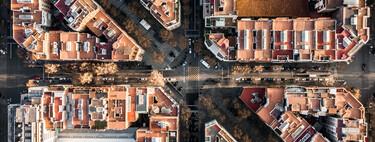 Barcelona geométrica: las fotografías a vista de drone que recogen la belleza de la ciudad condal