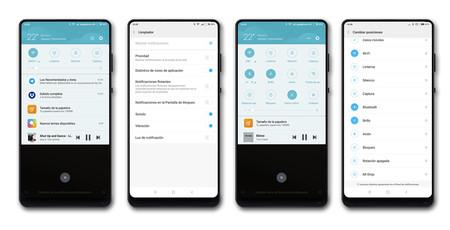 Xiaomi Mi Mix 2 Ajustes Notifs Y Toggles