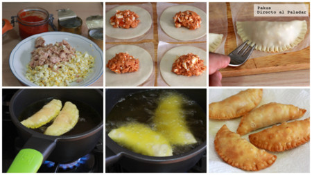 Empanadillas De Mostoles