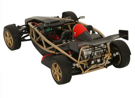 ¿No te llega para un Ariel Atom V8? Ahora ya puedes tener una maqueta 1:18 oficial, fabricada en España