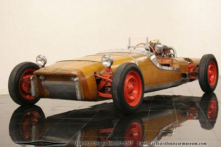 Un coche de madera de 1959 a la venta en eBay