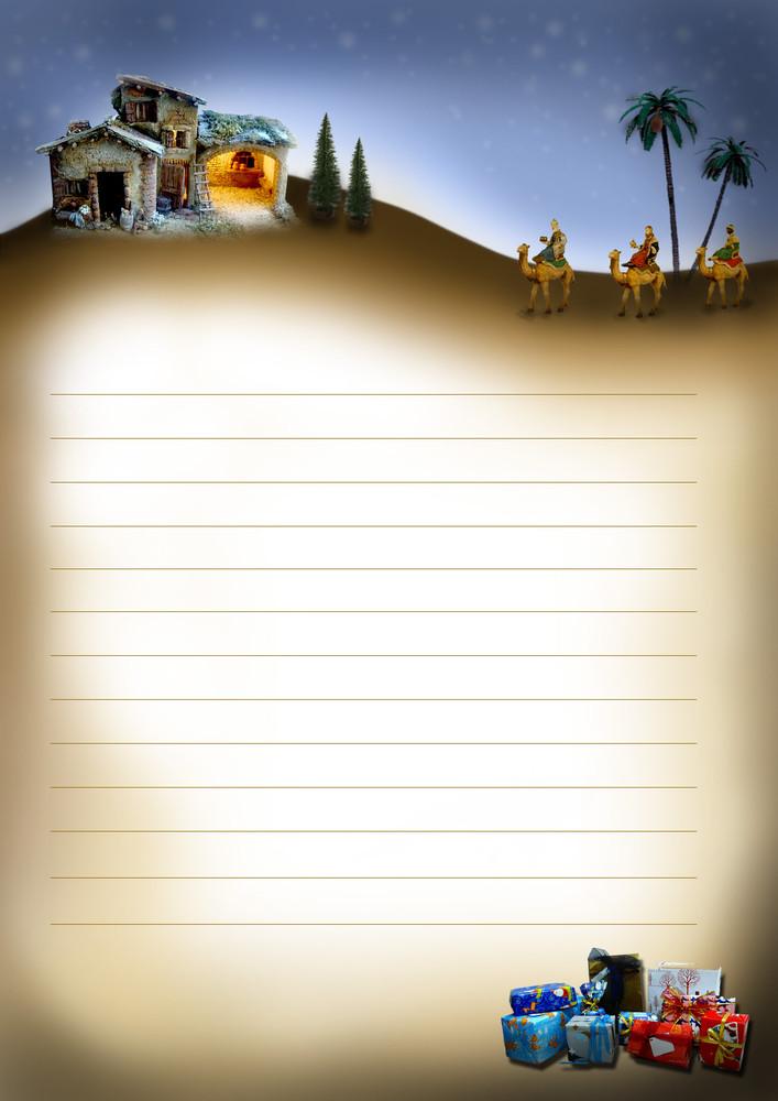 Haz Tu Propia Carta Para Que Los Reyes Magos Respondan A Los Ninos