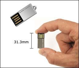 Pequeñísimas memorias USB de Super Talent