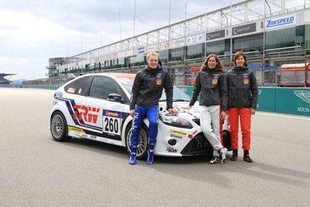 Ford cede un Focus RS a estudiantes alemanes para las 24 Horas de Nürburgring