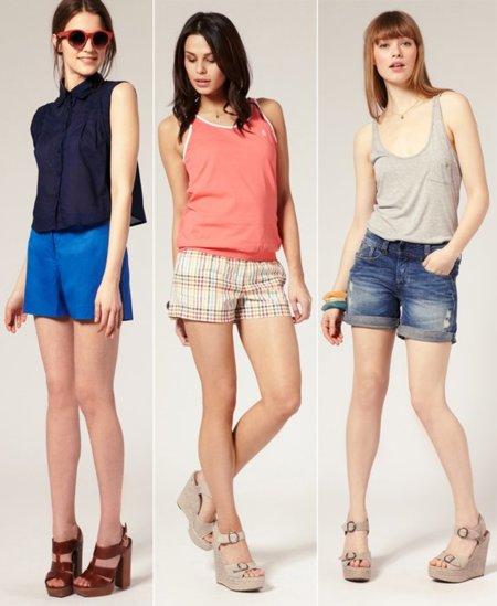 Shorts Asos 2011
