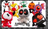 Monstrus, los peluches más terroríficos