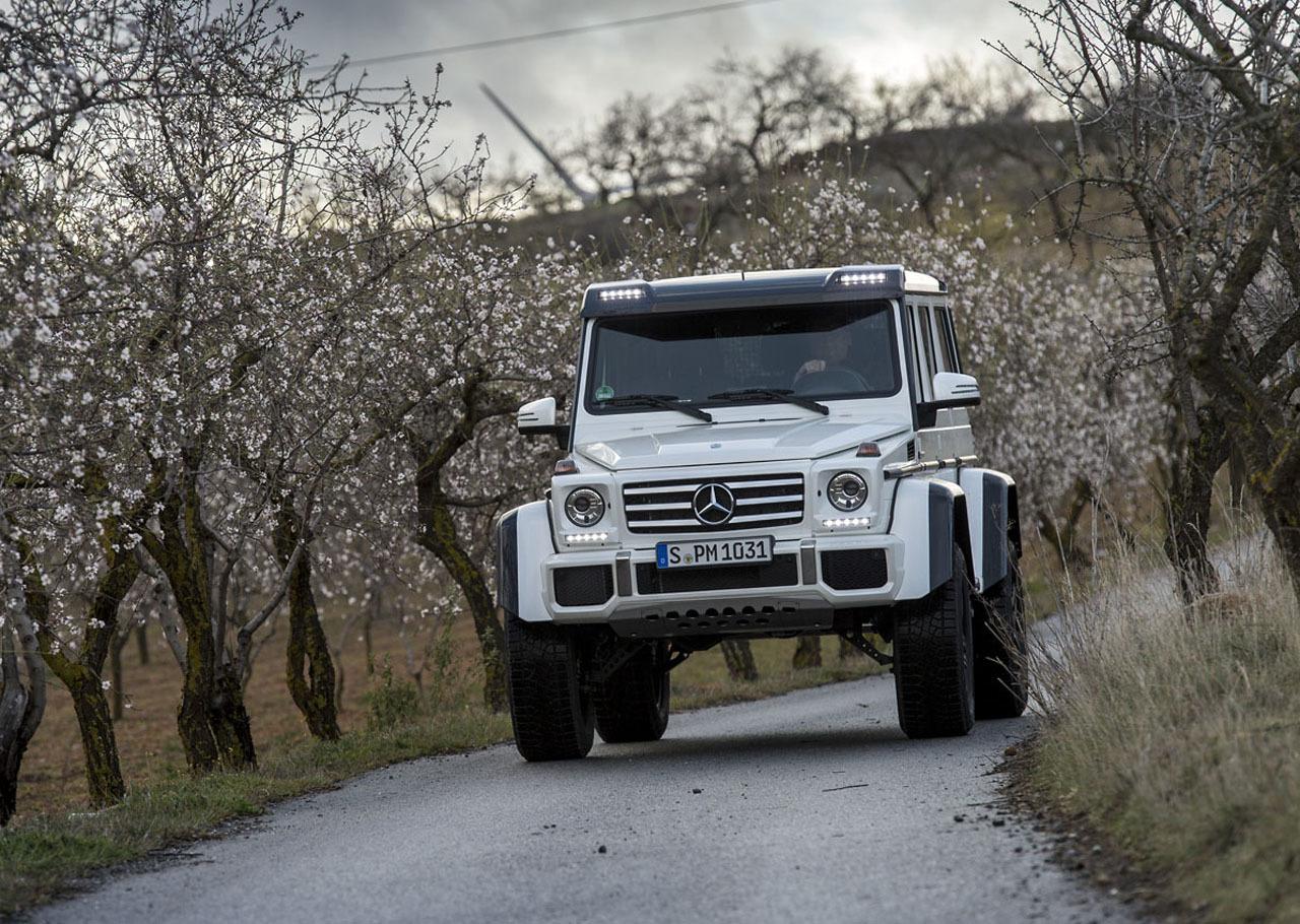 Foto de Mercedes-Benz G 500 4x4², toma de contacto (29/127)