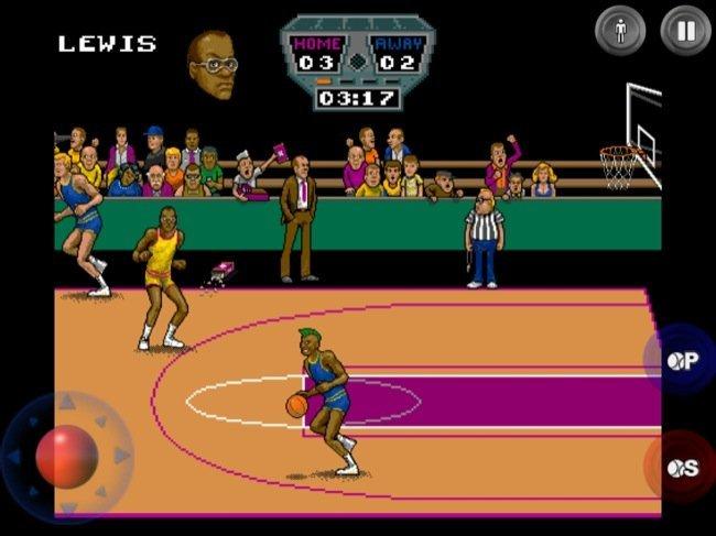 Archrivals, baloncesto dos contra dos