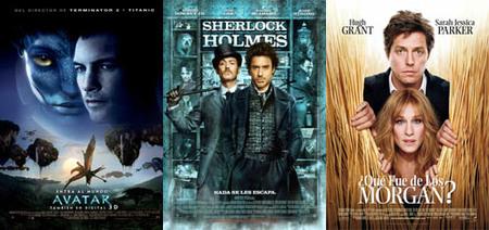 Taquilla española   Sherlock no puede con Avatar, pero casi