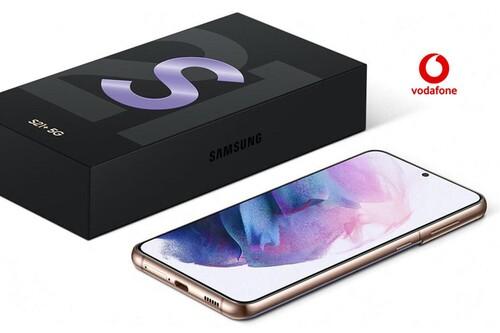 Precios Samsung Galaxy S21, S21+ y S21 Ultra con tarifas Vodafone