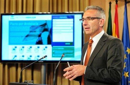 La web del Pacto por Andalucía para recoger las propuestas ciudadanas
