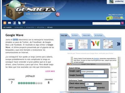 Genbeta 2.0: toda la información sobre tus aplicaciones favoritas